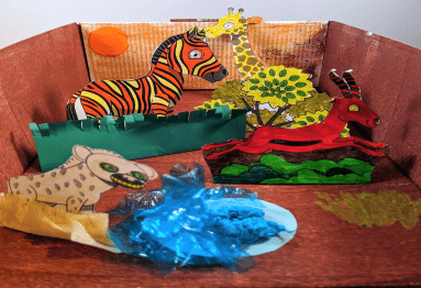 African animals craft